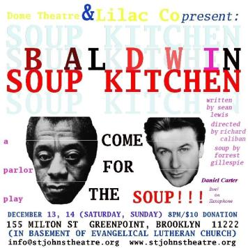 """BALDWIN SOUP KITCHEN"" 155 MILTON STREET GREENPOINT, BROOKLYN EVANGELICAL LUTHERAN CHURCH BASEMENT WINTER 2008"