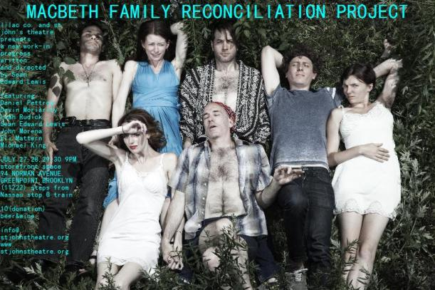 """""""MACBETH FAMILY RECONCILIATION PROJECT"""" 94 NORMAN STOREFRONT SPACE GREENPOINT, BROOKLYN SUMMER 2011 (PHOTOGRAPHY BY GALYA KOVALYOVA)"""