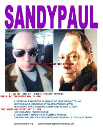 """SANDYPAUL"" LILAC CO (NYC) SPRING 2011 EDGAR OLIVER AND SEAN EDWARD LEWIS"