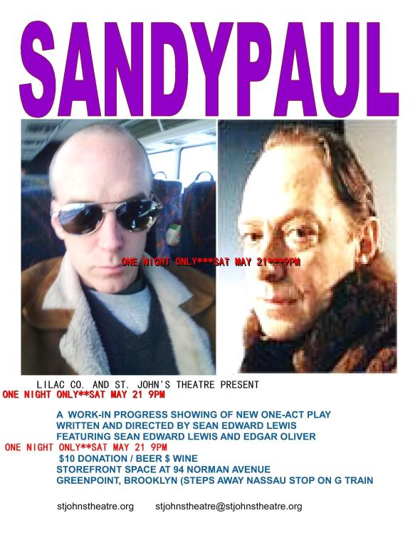"""""""SANDYPAUL"""" LILAC CO (NYC) SPRING 2011 EDGAR OLIVER AND SEAN EDWARD LEWIS"""