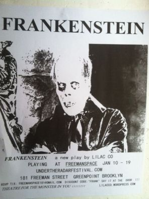 frankenstein flyer pic