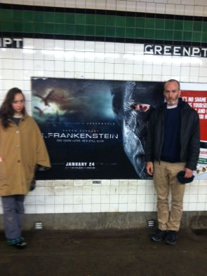 i frank pic w poster subway